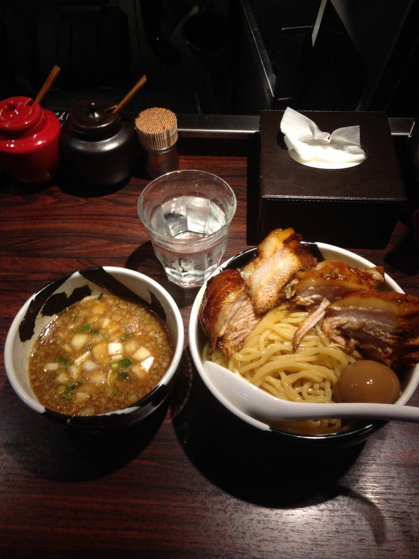 麺屋武蔵 武骨 御徒町店 - 味玉チャーシューつけ麺