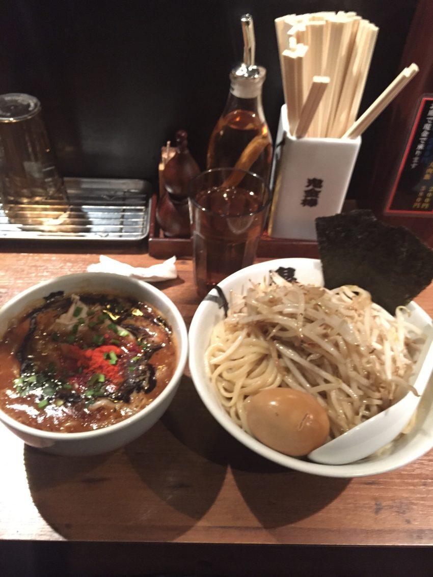 カラシビつけ麺 鬼金棒 (キカンボウ) - 特製カラシビつけ麺