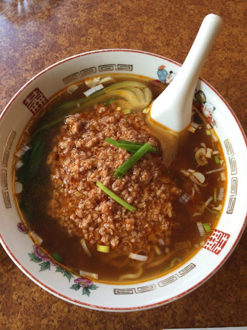 中国飲茶 楼蘭 (上野) - 坦々麺