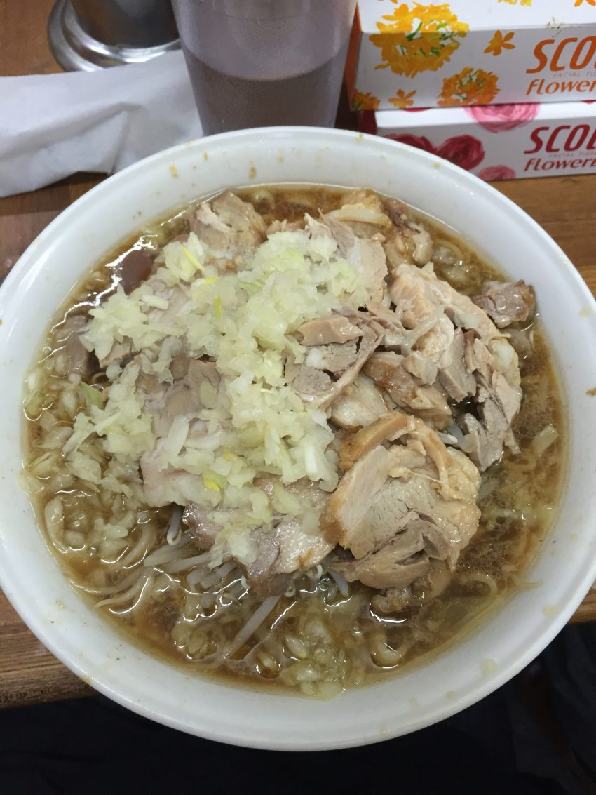 ラーメン麺徳 東上野店 豚入り大ラーメン