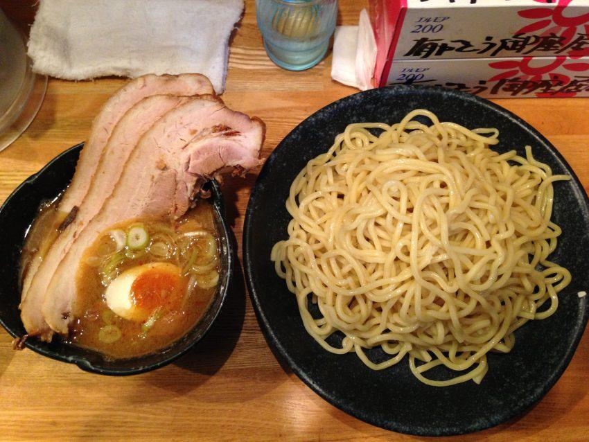 つけ麺道たけし - 醤油つけ麺大盛チャーシュートッピング