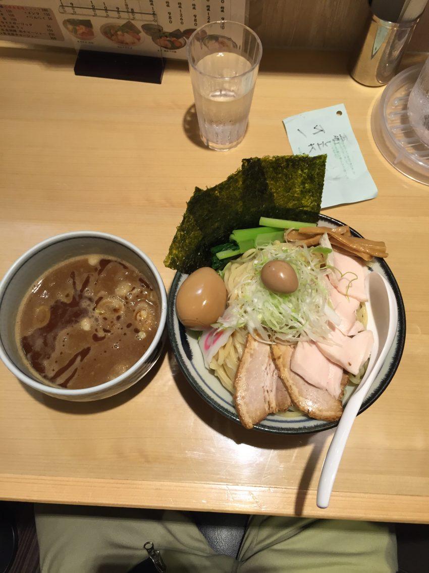 立川 朧月(おぼろづき)特製濃厚つけ麺