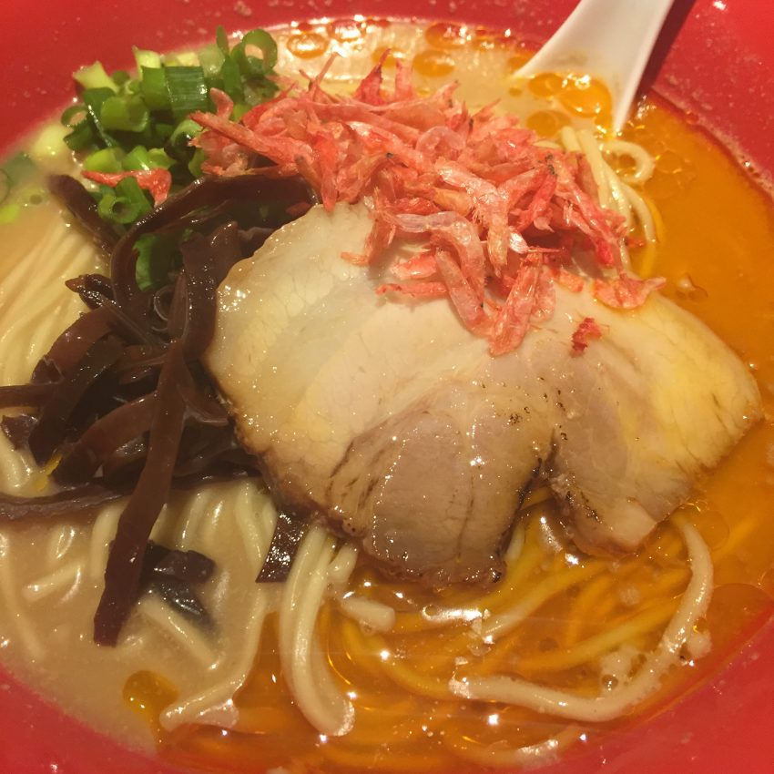 じぱんぐ上野駅前店 – 海老吟醸 麺大盛