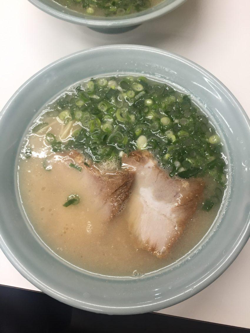 長浜ラーメン 味心 塩とんこつラーメン
