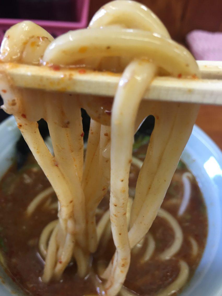 麦天 (BAKUTEN)- シビ辛つけ麺大盛