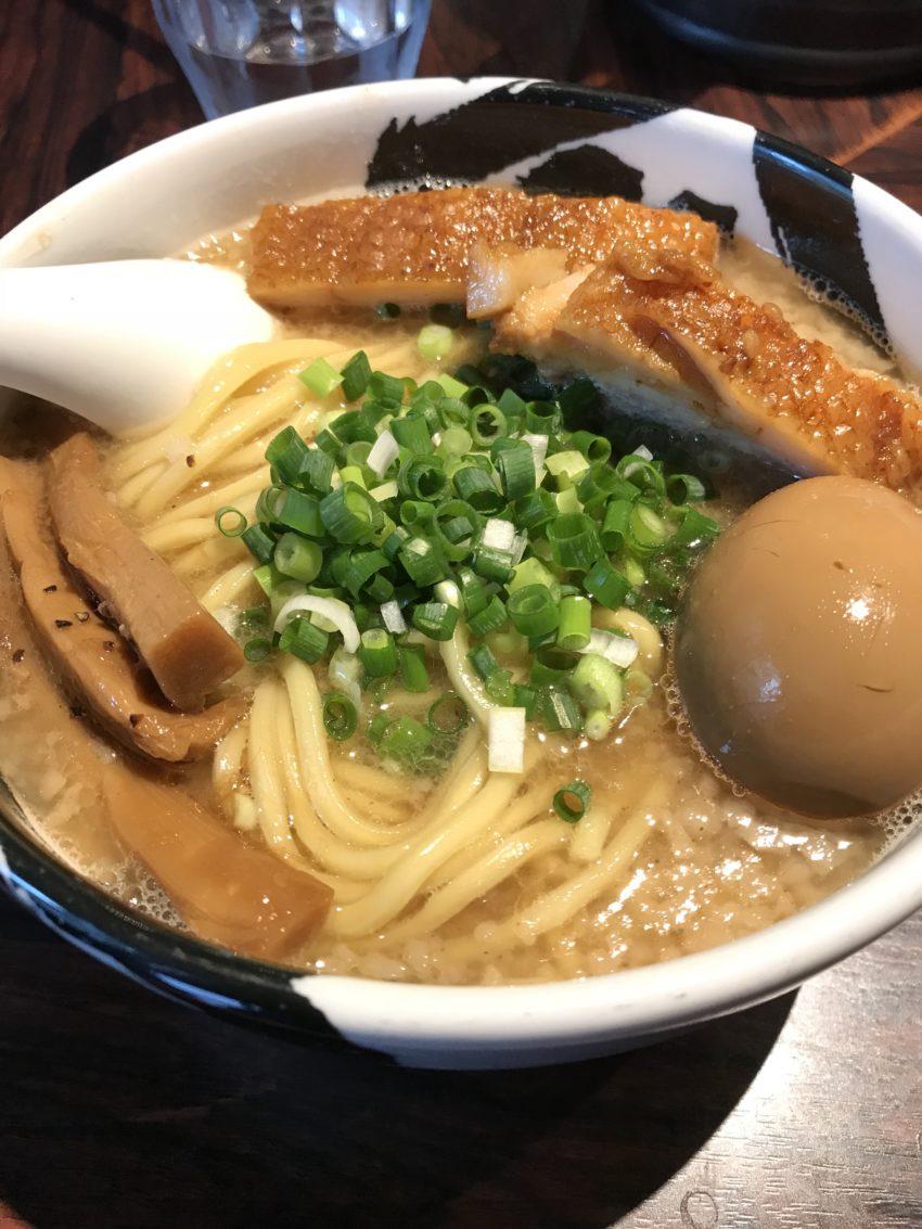 麺屋武蔵 武骨 - 武骨ら~麺((白)