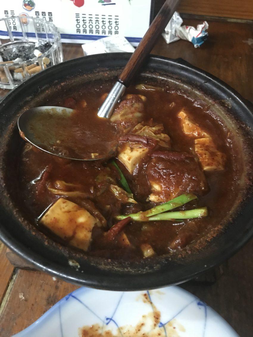だるま 豆腐鍋(鬼辛)