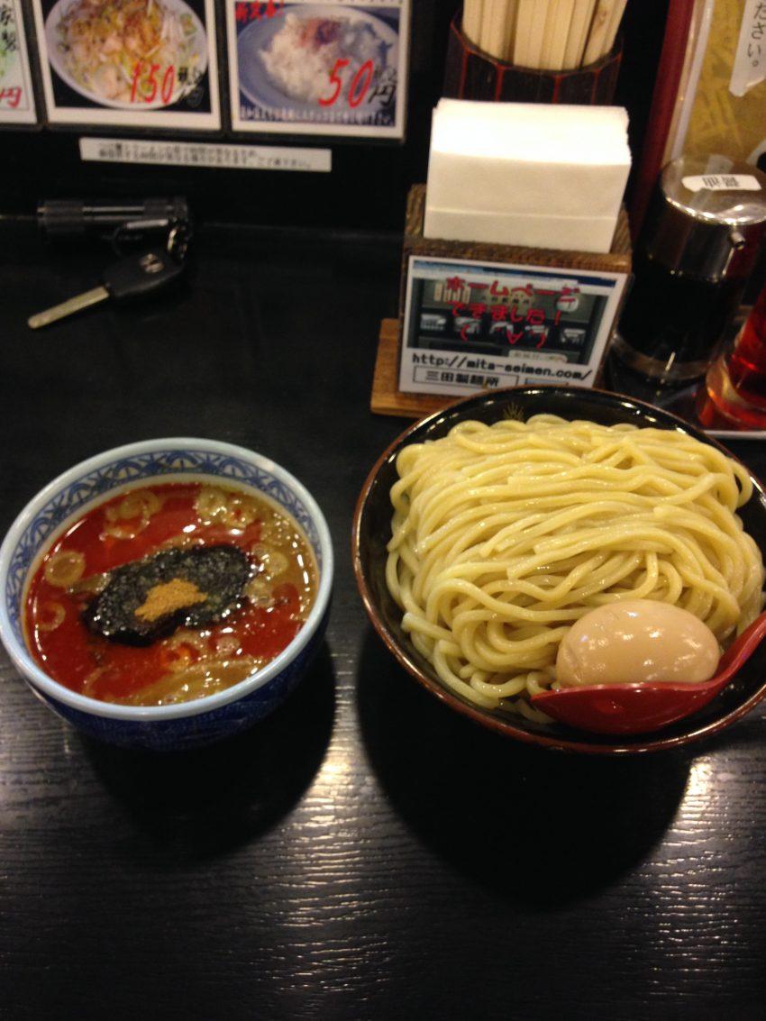 三田製麺所 辛つけ麺