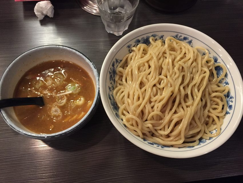 大勝軒next 上野店 - つけそば麺特盛り