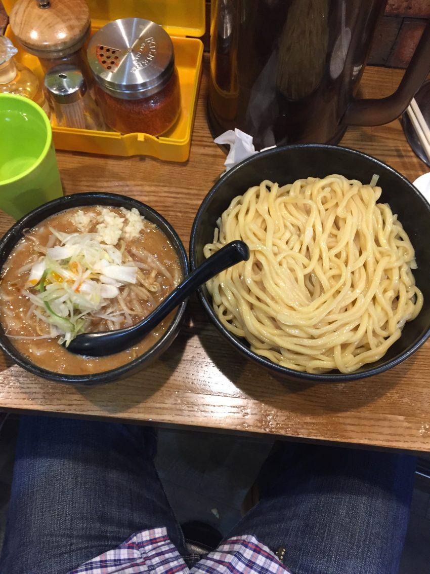 麺処 花田 上野店 - 辛味噌つけめん