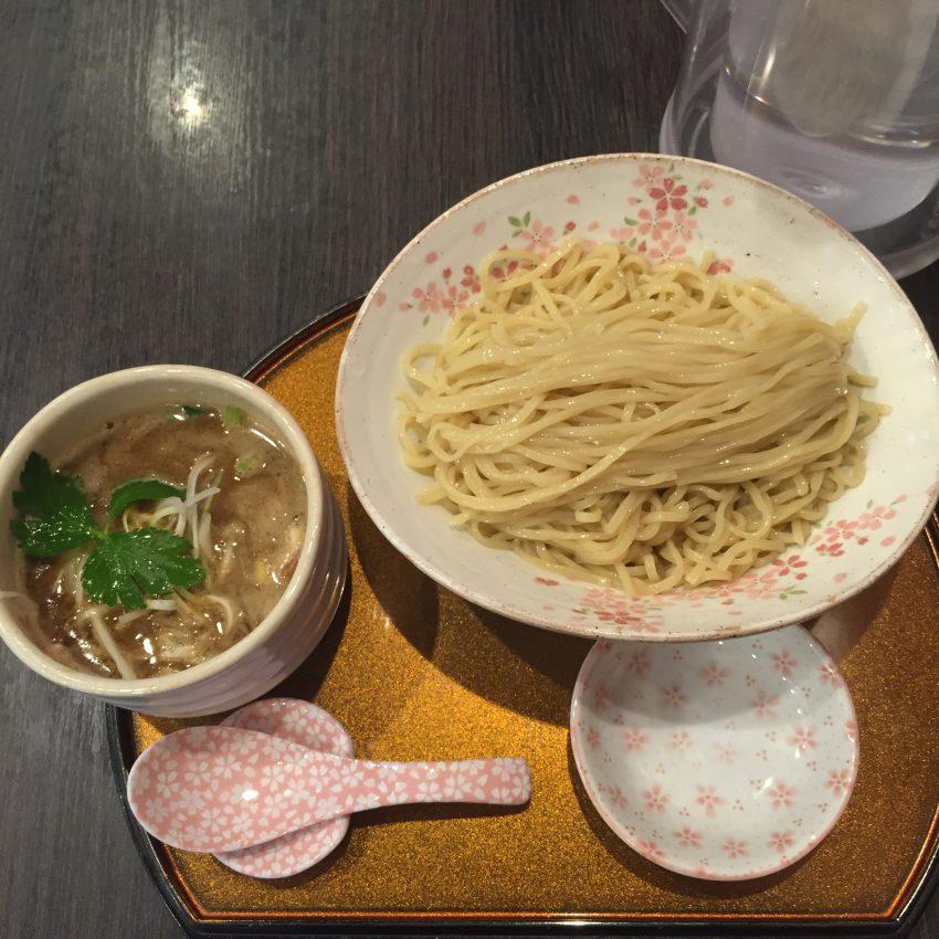 チラナイサクラ - 鶏と貝のつけ麺