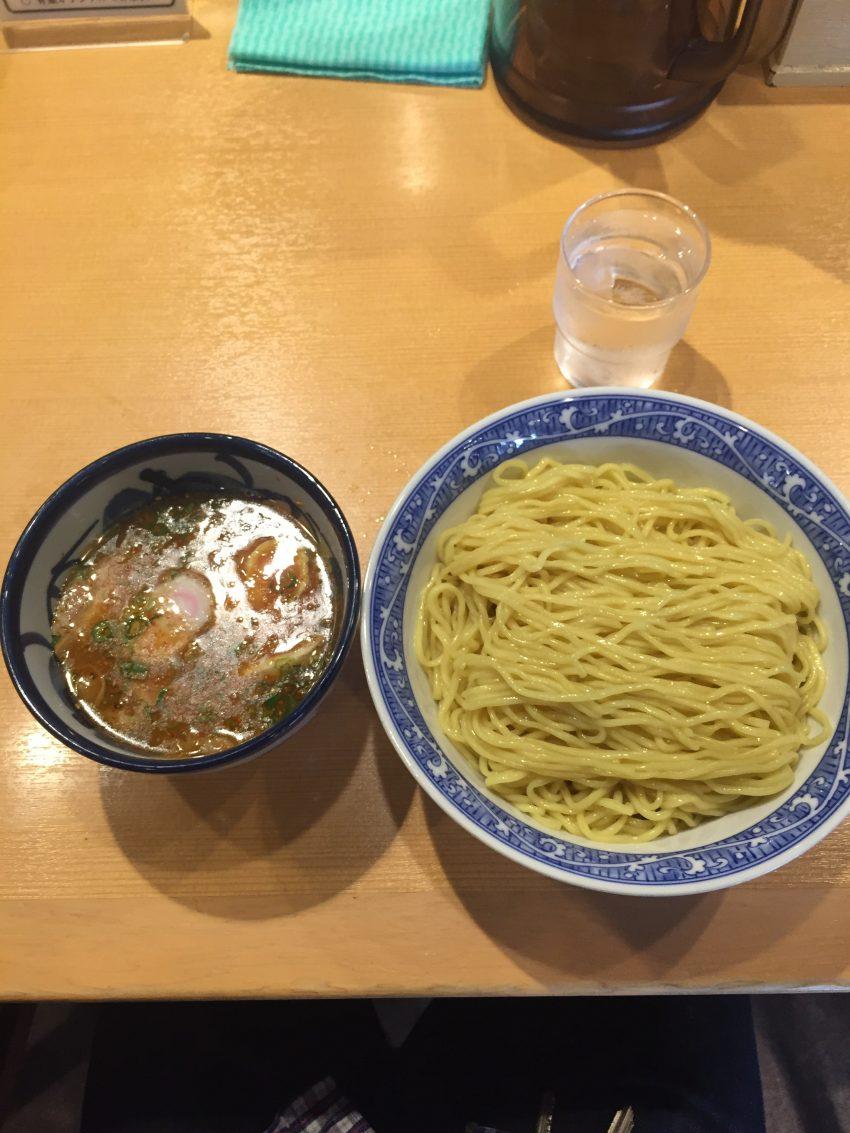 青葉(御徒町店)つけ麺