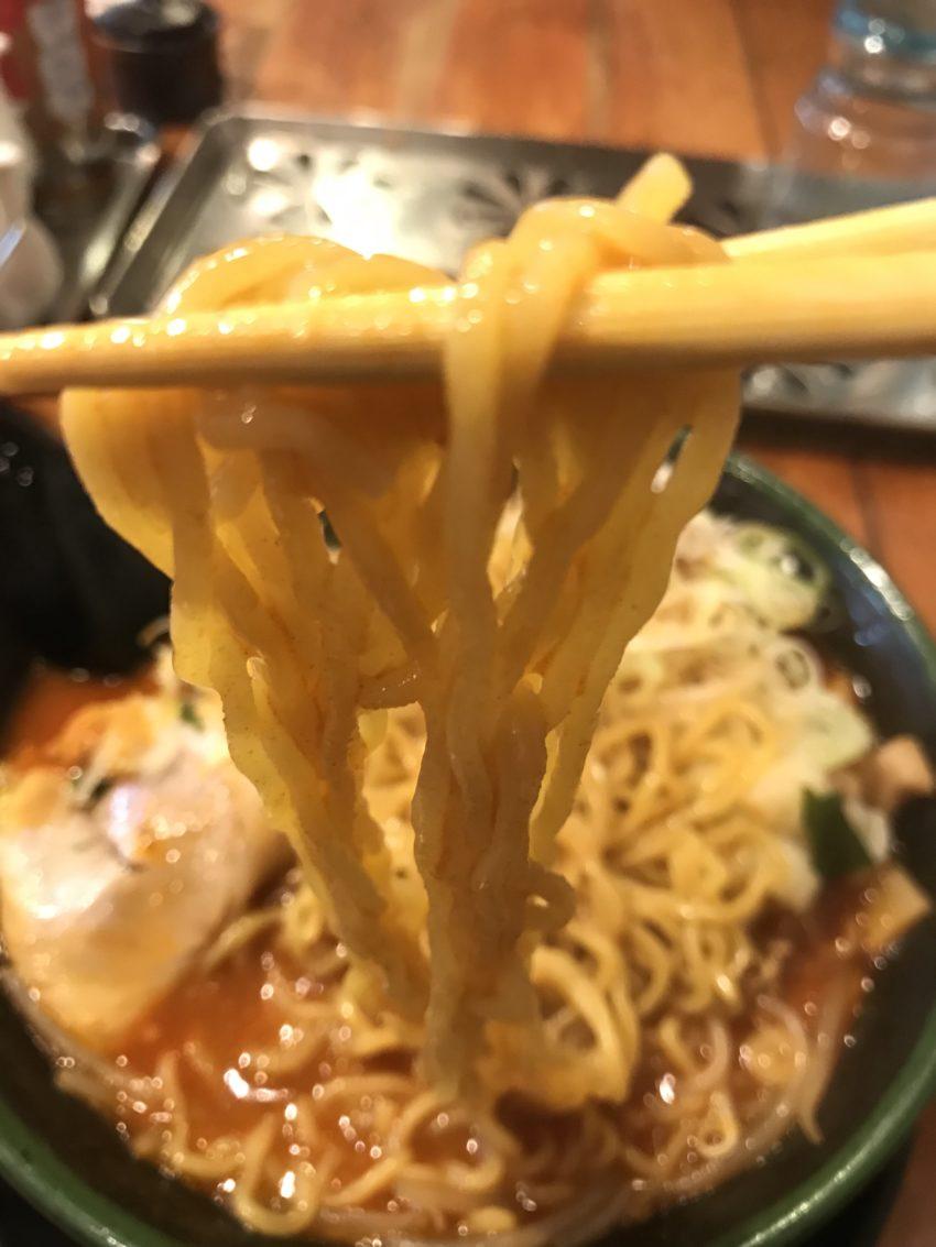 北海道らーめん 味源 立川北口店 鉄火麺