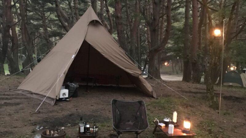 本栖湖キャンプ場へソロキャンプ
